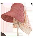 nsr835 農園帽ハーフ&ハーフ