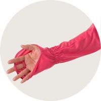 手甲付き腕カバー