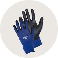 ウレタンコーティング薄手背抜き手袋 フィット